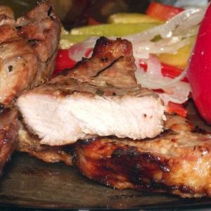 Виноград - Мясо-барбекю с секретом