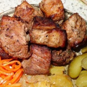 Гранат - Мясо в гранатовом соке
