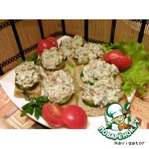 Скумбрия - Намазка из скумбрии холодного копчения и сливочного сыра