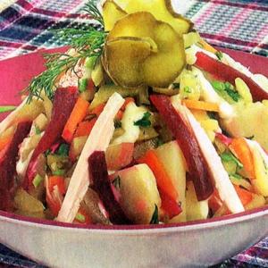 Рецепты итальянской кухни - Неаполитанский салат