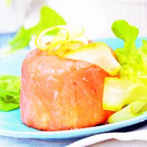 Рецепты для миксера - Нежная форель с творожным сыром