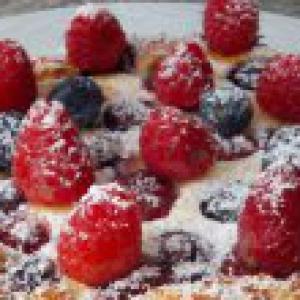 Черника - Нежный пирог с творогом