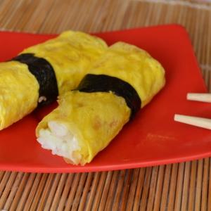 Морепродукты - Нигири с омлетом