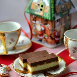 Печень - Новогоднее пирожное орехово-кокосовое