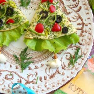 Салат - Новогодняя закуска Ёлка