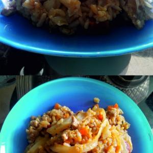 Рецепты молдавской кухни - Ну очень ленивые голубцы