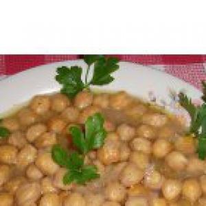 Рецепты греческой кухни - Нут, как его готовят на греческом острове Сифнос