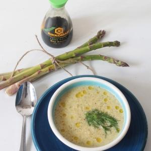 Спаржа - Очень быстрый сливочный суп