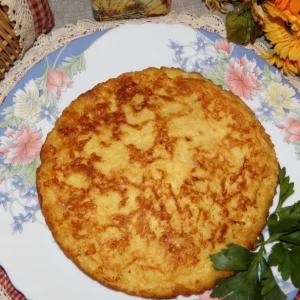 Рецепты из яиц - Омлет с хлебом и сыром