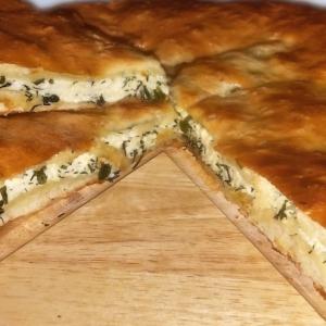 Душица обыкновенная (орегано) - Осетинский пирог с сыром и зеленью