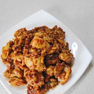 Острые блюда - Острая корейская закуска из молок