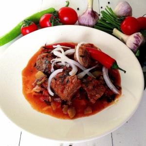 Рецепты грузинской кухни - Остри