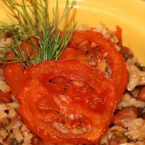 Рецепты латиноамериканской кухни - Острый гарнир из фасоли и риса