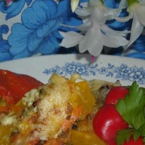 Опята - Овощи с начинкой Привет из лета
