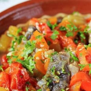 Кабачок - Овощное рагу с мясом