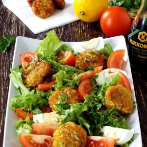 Пользователи - Овощной салат с нежными шариками