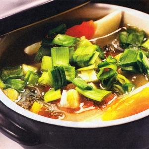 Рецепты супов - Овощной суп с яйцом