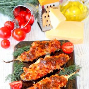 Маскаропоне - Овощные лодочки под сырной шапкой