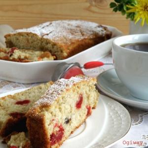 Ваниль - Овсяный сливочный кекс с цукатами