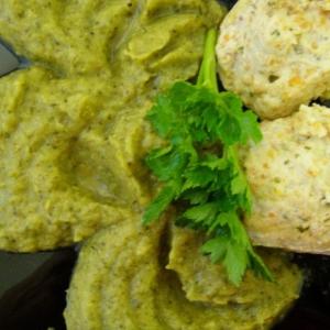 Рецепты для пароварки - Паровые тефтели с овощным пюре