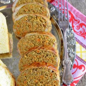 Печень - Паштет печеночный запеченный