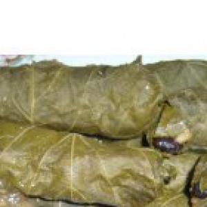 Рецепты армянской кухни - Пасус-толма или постные голубцы