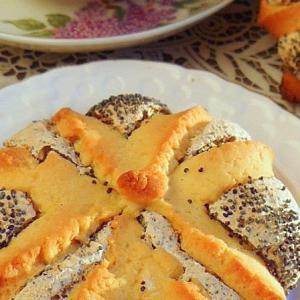 Мак - Печенье Маково-кунжутный цветок