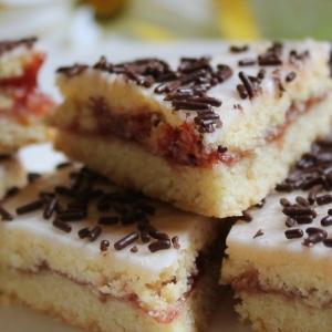 Рецепты датской кухни - Печенье малиновое