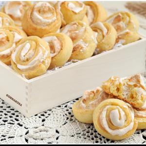 Рецепты из теста - Печенье Розочки
