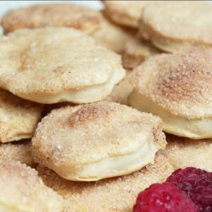 Маргарин - Печенье с корицей на пивном тесте