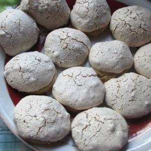 Орехи - Печенье с ореховым безе