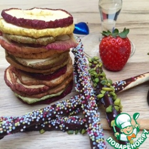 Фисташки - Печенье Шоколадные микадо