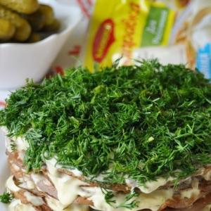 Маскаропоне - Печёночный торт Магги