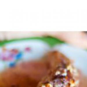 Масала - Печеные бананы, фаршированные кокосом