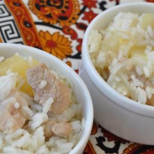Рецепты индийской кухни - Пелло свинина с рисом и ананасом
