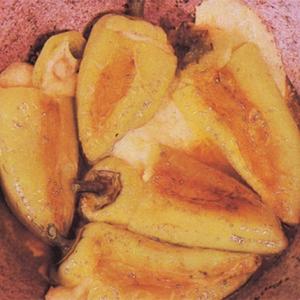 Брынза - перец фаршированный брынзой и яйцами