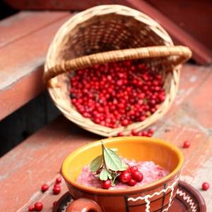 Брусника - Перловая каша В лесу родились ягодки