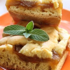 Маргарин - Песочный пирог с яблочным вареньем Нежный
