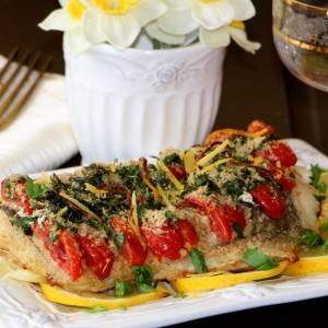 Рецепты испанской кухни - Пестрая треска в овсяной панировке