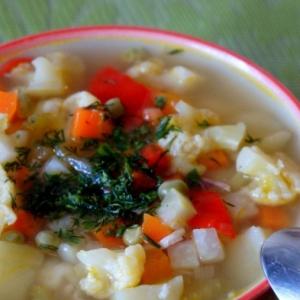 Капуста цветная - Пестрый овощной айнтопф