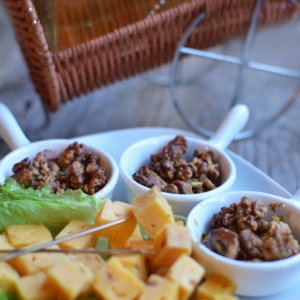 Манго - Пикантная ореховая закуска
