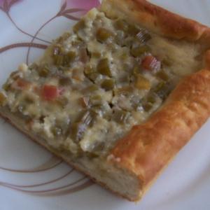 Ревень - Пирог из ревеняКислинка