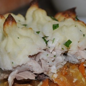 Скумбрия - Пирог из рыбы