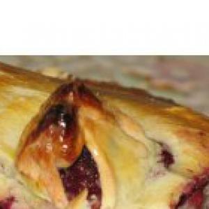 Ежевика - Пирог