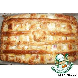 Нектарин - Пирог