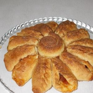 Яблоко - Пирог Ромашка