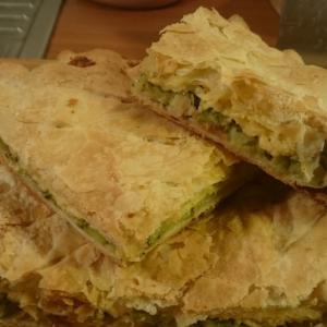 Тесто - Пирог с брокколи