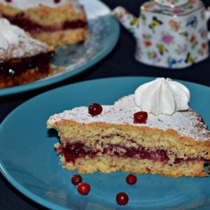 Брусника - Пирог с брусникой Осенний подарок