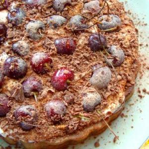 Черешня - Пирог с черешней