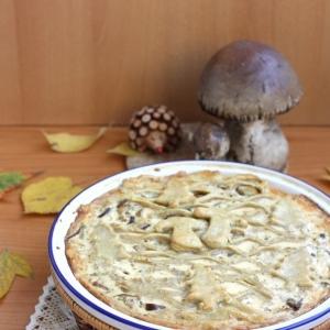 Сморчки и строчки - Пирог с грибами Осенняя радость